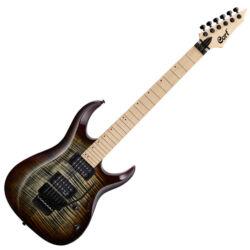 Cort el.gitár, EMG PU, barna burst