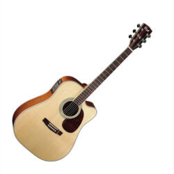 Cort akusztikus gitár elektronikával, Fishman EQ, natúr