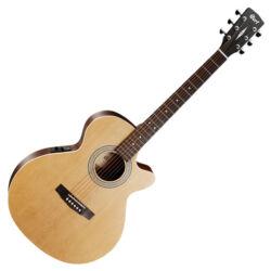 Cort akusztikus gitár EQ-val, Open Pore natúr
