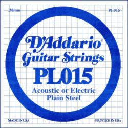 Elektromos gitárhúr D'addario PL015