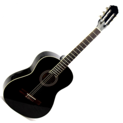 Klasszikus gitár Romanza 4/4  fekete