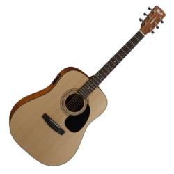 Akusztikus gitár EQ-val Cort 810E-OP + tok, pánt.