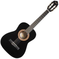 Klasszikus gitár Valencia 1/2 méret, fekete