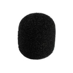 Mikrofon szivacs fekete 20x22