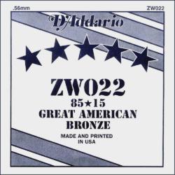 Akusztikus gitárhúr D'Addario  ZW022