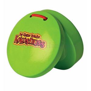 Kasztanyetta valódi hangzással zöld