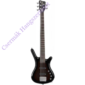 Basszusgitár Warwick Rockbass Corvette Basic Akt/Akt BK