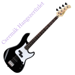 Cort el.basszusgitár, PJ, fekete