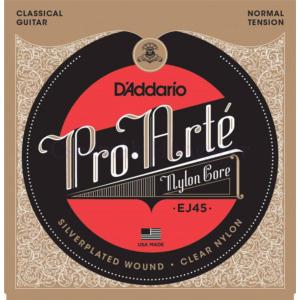 Klasszikus gitárhúrkészlet D'addario EJ45