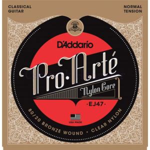 Klasszikus gitárhúrkészlet D'addario EJ47