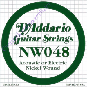 Elektromos gitárhúr D'Addario NW048