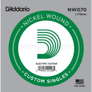Elektromos gitárhúr D'Addario NW070