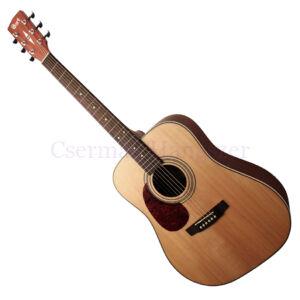 Cort akusztikus gitár, balkezes, open pore