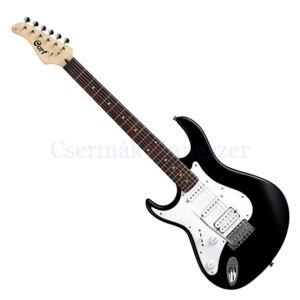 Cort el.gitár, fekete, balkezes