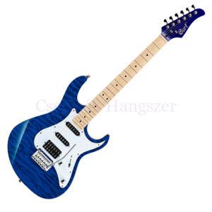 Cort el.gitár, hársfa test, kék