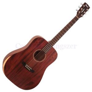Cort akusztikus gitár, open pore