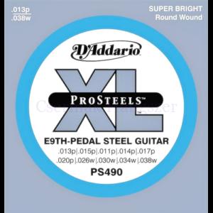 Steel gitár húrkészlet 013-038 D'Addario