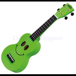 Ukulele zöld, mosolygós