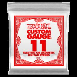 Elektromos gitárhúr Ernie Ball plain steel 11