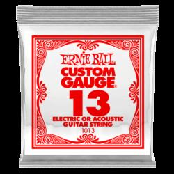 Elektromos gitárhúr Ernie Ball plain steel 13