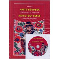 Matyó népdalok énekhangra és zongorára + CD