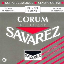 Klasszikus gitárhúrkészlet Savarez Corum Rouge  500AR