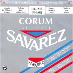 Klasszikus gitárhúrkészlet Savarez Corum Alliance Red-Blue  500ARJ
