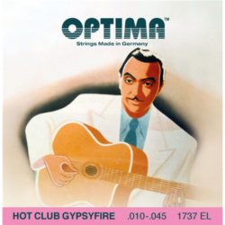 Akusztikus gitár húrkészlet Optima Hot Club Gypsyfire