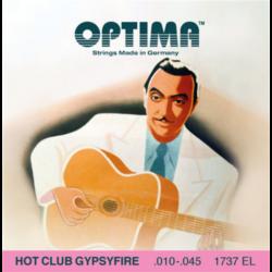 Akusztikus gitárhúrkészlet Optima Hot Club Gypsyfire