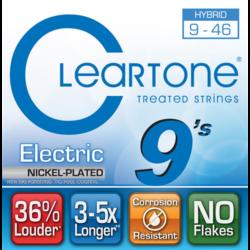 Elektromos gitárhúrkészlet Cleartone Hybrid 9-46
