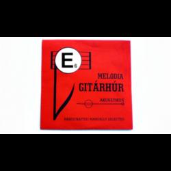 Melodia gitárhúr E 6 dupla fonatos