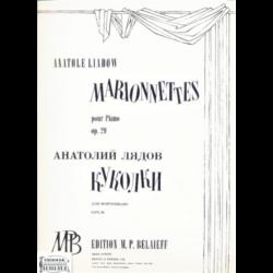 MARIONNETTES POUR PIANO OP.29.
