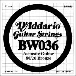 Akusztikus gitárhúr D'Addario BW036