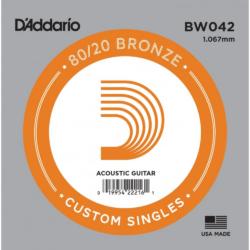 Akusztikus gitárhúr D'Addario  BW042