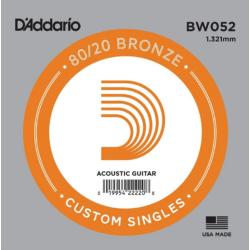 Akusztikus gitárhúr D'Addario  BW052