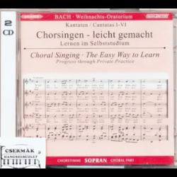 BACH, WEIHNACHTS-ORATORIUM SOPRAN CD