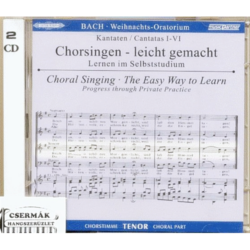 Bach, WEIHNACHTS-ORATORIUM TENOR CD