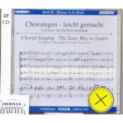BACH, MESSE IN H-MOLL TENOR CD