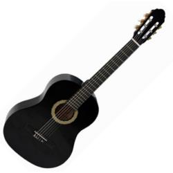 Klasszikus gitár 4/4 Toledo Primera Student, fekete