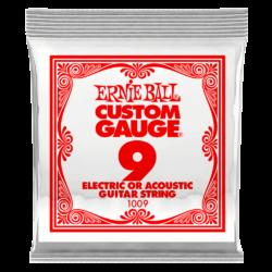 Elektromos gitárhúr Ernie Ball acél 0,09