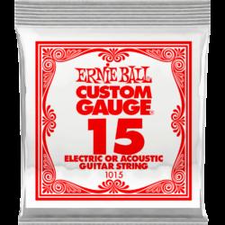 Elektromos gitárhúr  Ernie Ball plain steel 15