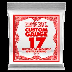 Elektromos gitárhúr Ernie Ball plain steel 17