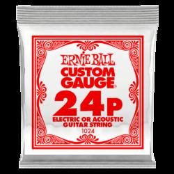 Elektromos gitárhúr Ernie Ball fonott acél 0,24