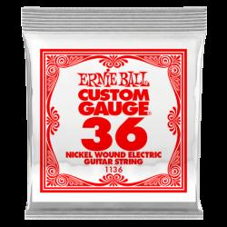 Elektromos gitárhúr Ernie Ball nickel wound  0,36