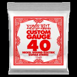 Elektromos gitárhúr Ernie Ball nickel wound  0,40