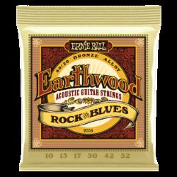 Akusztikus gitárhúrkészlet Ernie Ball Rock Blues 10-52