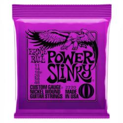 Elektromos gitárhúrkészlet Ernie Ball Power Slinky 11-48