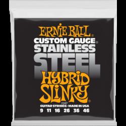 Elektromos gitárhúrkészlet Ernie Ball  Hybrid Slinky 9-46