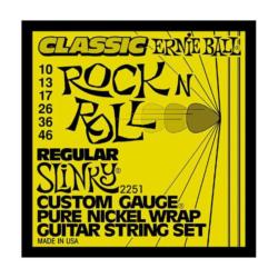 Elektromos gitárhúrkészlet Ernie Ball Regular Slinky 10-46
