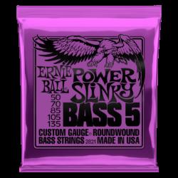 Basszusgitár húrkészlet Ernie Ball Nickel Wound Bass Reg 5 húr 50-135